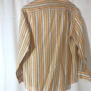 Alan Flusser Shirts - Men's 💯% Linen Alan Flusser Shirt